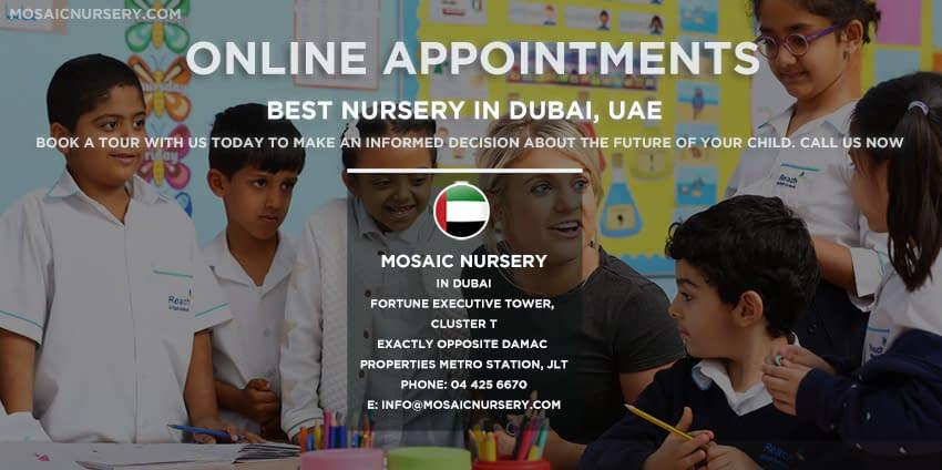 Online Admission In Best Nursery in Dubai, UAE