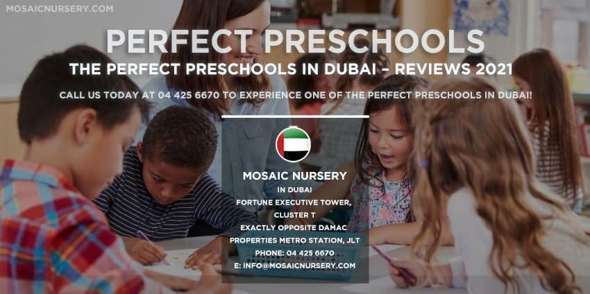The Perfect Preschools in Dubai