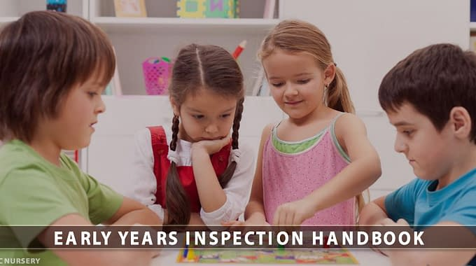 Early Years Inspection Handbook