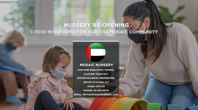 Nursery Re-Opening Dubai